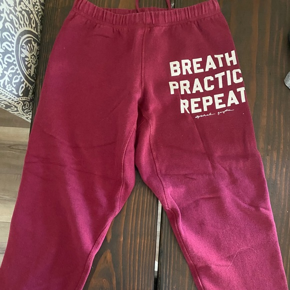 Like New Spiritual Gangster Sweatpants